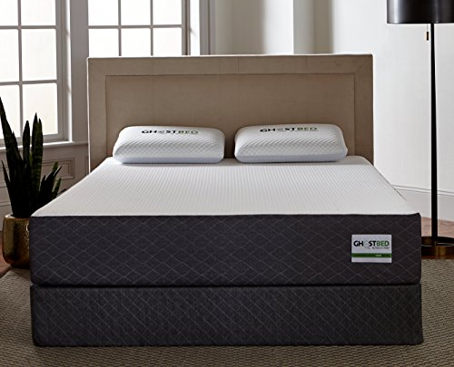 Ghostbed Mattress King 11 Inch Cooling Gel Memory Foam Mattress In A Box Most Advanced Adaptive Gel Memory Foam Coolest Mattress In America Made In The Usa Industry Leading 20 Year Warranty