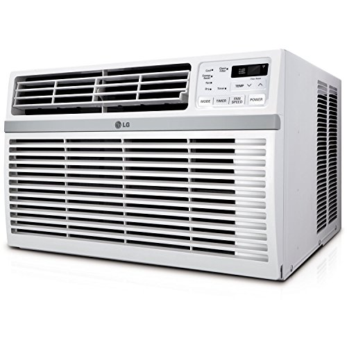 Lg Lw8016er 8,000 Btu 115v Window Mounted Air Conditioner With Remote Control