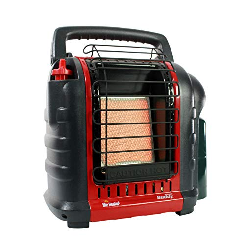 Mr. Heater F232000 Mh9bx Buddy 4,000 9,000 Btu Indoor Safe Portable Propane Radiant Heater