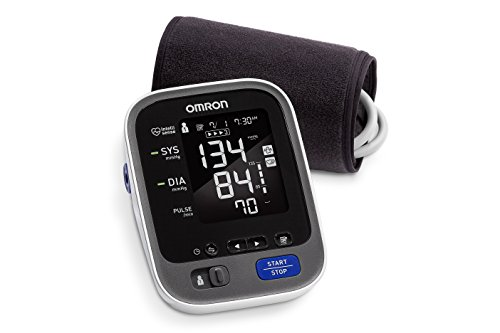 Omron 10 Series Wireless Upper Arm Blood Pressure Monitor; 2 User, 200 Reading Memory, Backlit Display, Truread Technology, Bluetooth® Works With Amazon Alexa By Omron