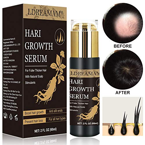 Hair Growth Serum, Anti Hair Loss Serum, Strengthen Hair Roots Thickening, Promote Hair Growth Regrowth Product For Men And Women