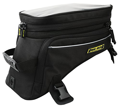 Nelson Rigg Black Holds 12.39/16.52 Liters Rg 1045 Trails End Adventure Motorcycle Tank Bag