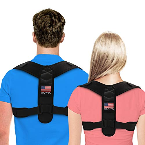 Posture Corrector For Men And Women Usa Patented Design Adjustable Upper Back Brace For Clavicle Support And Providing Pain Relief From Neck, Back And Shoulder (universal)