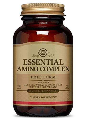 Solgar Essential Amino Complex, 90 Vegetable Capsules