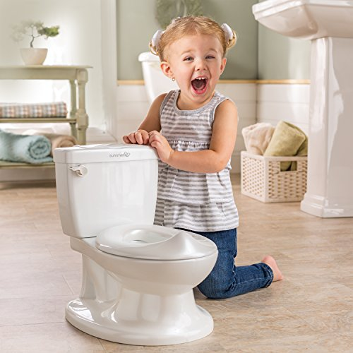 Summer My Size Potty, White Realistic Potty Training Toilet Looks And Feels Like An Adult Toilet Easy To Empty And Clean