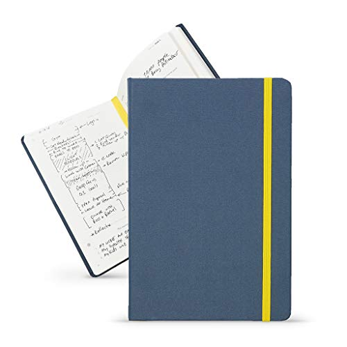 Bestself Co. The Self Journal Planner 2019 2020 Monthly, Weekly, Daily Planner Increase Productivity And Happiness Undated Hardcover Navy