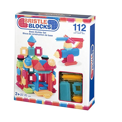 Bristle Blocks By Battat The Official Bristle Blocks 112piece Creativity Building Toys Dexterity Fine Motricity Bpa Free 2 Years +