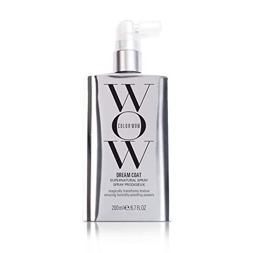 Color Wow Dream Coat Supernatural Spray, Anti Humidity, Prevents Frizz, Heat Protectant, 6.7 Fl Oz