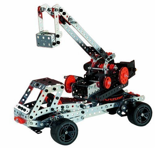 Erector By Meccano Super Construction 25 In 1 Motorized Building Set, Steam Education Toy, 638 Parts, For Ages 10+