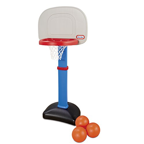Little Tikes Easy Score Basketball Set, Blue, 3 Balls Amazon Exclusive