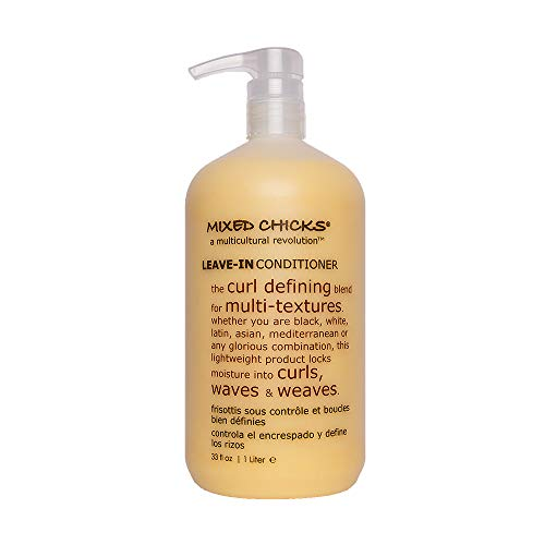 Mixed Chicks Curl Defining & Frizz Eliminating Leave In Conditioner, 33 Fl.oz.