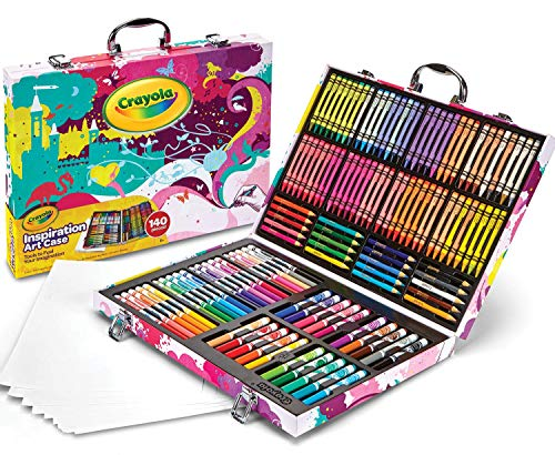 Crayola Inspiration Art Case Coloring Set, Gift For Kids Age 5+