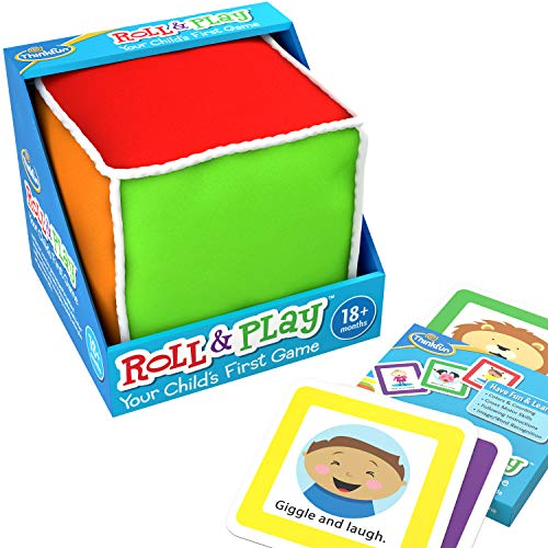 Thinkfun Roll And Play Game For Toddlers Your Child's First Game! Award Winning And Fun Toddler Toy For Parents And Kids 18 Months And Older