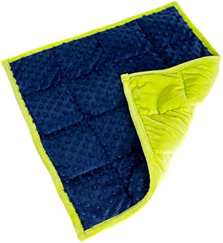 Weighted Lap Pad For Kids Blanket For Children 21 X 1 X 19 Inches 4.6 Pounds. Classroom And Special Education Supplies.