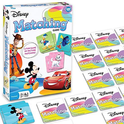 Wonder Forge Disney Classic Characters Matching Game For Boys & Girls Age 3 To 5 A Fun & Fast Disney Memory Game