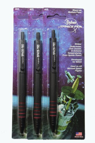 3 Pack Fisher Space Tec Retractable Space Pens Best Buy