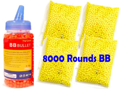 Bbtac 8000 Perfect Grade Bb 0.12g Polished For Best Accuracy And Velocity On Airsoft Gun