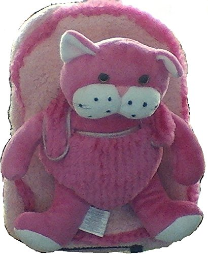 Best Buddy Pink Cat Backpack With Removable Wheels