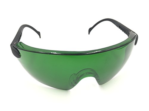 Grow Room Safety Glasses, Color Correction, Reflection, Glare Protection, Anti Uv400/ir, Best For Led Grow Light, Protective Goggles, For Indoor Gardens, Greenhouses, Hydroponics, Grow Tent (green)