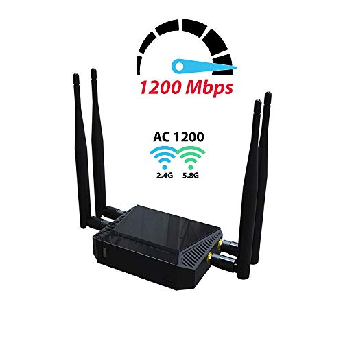 【high Speed】dual Band 1200mbps Wireless Internet Wifi Router | We3926 Open Source Openwrt 802.11ac Smart Wifi Router | Best Router For Streaming And Gaming | Long Range Wifi Router For Larger Homes