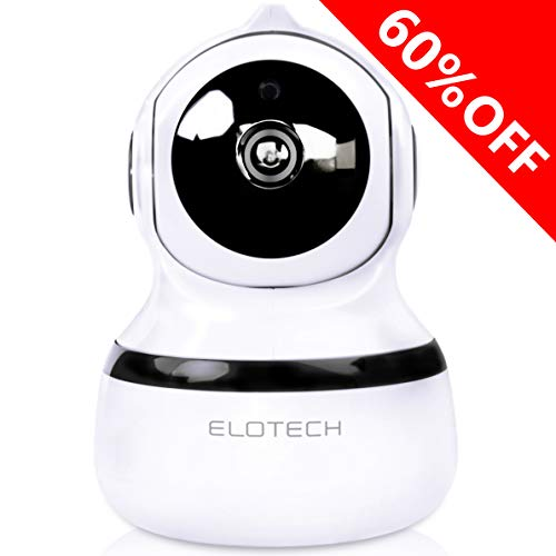 Home Security Ip Camera 1080p Hd – Best For Baby, Pet, Nanny Monitor – Wireless Wifi Smart Indoor Camera With Night Vision, Two Way Audio, Pan, Tilt, Alexa, Sd Card Slot, Motion Traсking And Alerts