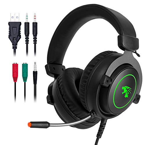 Jp Technology Stereo Gaming Headset With Microphone,combatwing Ps4 Headset Surround Sound Pc Headset With Noise Canceling Mic Best Gaming Headphones For Ps4/ps2/pc/mac/cellphones