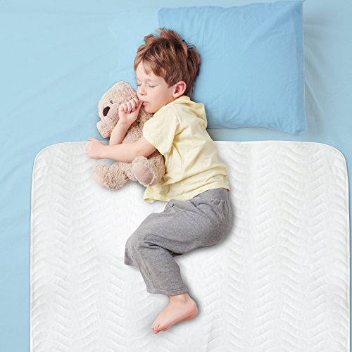 Large 29 X 52 Best Defense Medical Grade Mattress Protector, Waterproof Sheet Protection And Hospital Incontinence Bed Pad, Most Absorbent Reusable Enuresis Bed Pads For Adults, Kids, And Toddlers