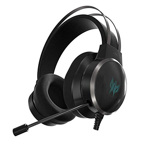Acer Predator Galea 500 Gaming Headset, Eq Controller, 3d Soundscape Technology, Virtual 7.1 Surround Sound And Gyro Sensor Built In For Best Vr Experience