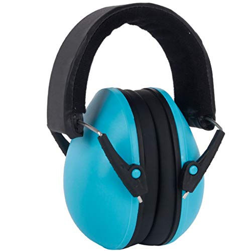 Gallity Best Hearing Protectors For Baby,professional Headband Ear Defenders For Children,noise Canceling For Children, Soft & Comfortable,baby Headphones Protection (blue)