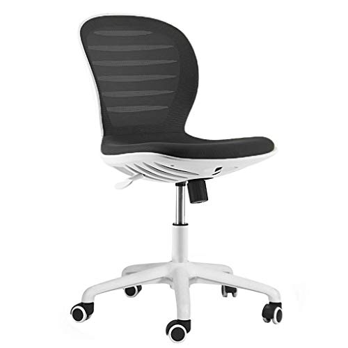 Ranranjj Office Chair Leather Gaming Chair With Headrest And Lumbar Support Stylish Comfortable Mesh Back Chair Comfort Best For Working Long Periods (color : Black)