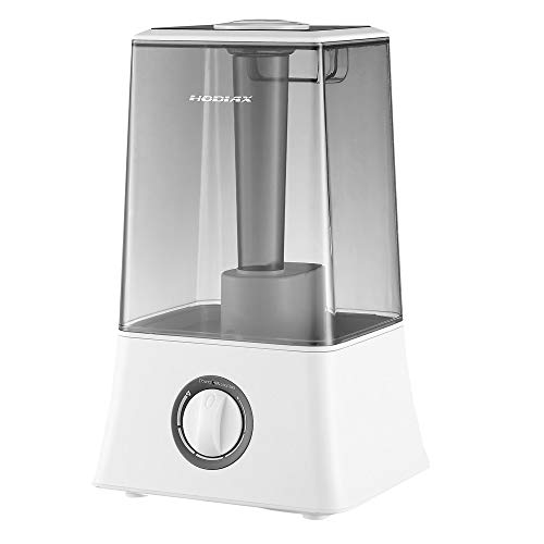 U Drive Cool Mist Humidifier Premium Humidifying Unit With Visible Water Tank, Whisper Quiet Operation, Auto Shut Off Best For Kids Baby Office Bedroom Gym Home, 4.5l (grey)