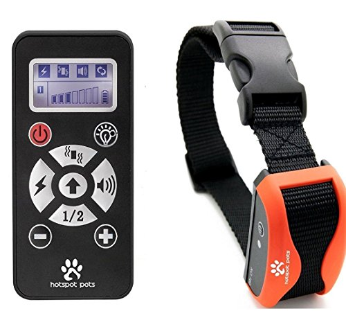 Best Shock Collar For Dogs Waterproof Rechargeable Dog Training Collar 800 Yard Long Range With 7 Levels Of Simulation & Vibration
