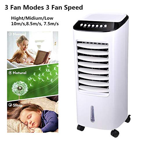 Big Times 65w 7l 2020 Best Portable Air Conditioner Save Energy Evaporative Air Cooler Humidifier For Bedroom,living Room,rv,tent