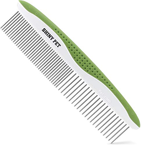 Dog Comb For Removes Tangles And Knots Cat Comb For Removing Matted Fur Grooming Tool With Stainless Steel Teeth And Ergonomic Grip Handle Best Pet Hair Comb For Home Grooming Kit Ebook Guide