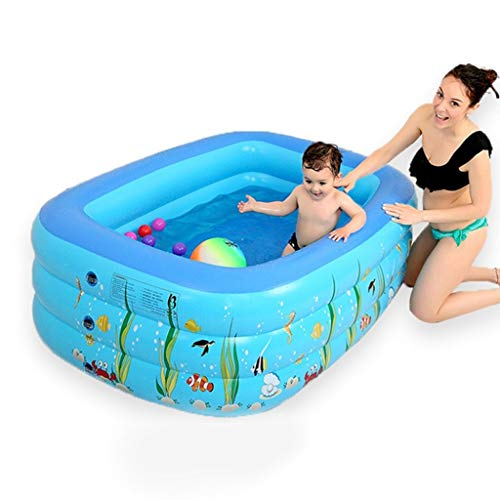 Drop In Bathtubs Household Adult Bathtub Baby Swimming Pool Children's Large Bath Tub Multi Functional Insulation Swimming Bucket Full Body Bath Barrel With Lid Best Gift For Family