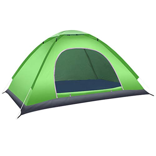 Jinjin Pop Up Beach Tent Sun Shelter Anti Uv Beach Shelter Outdoor Fully Automatic Speed Opening Camping Tent Festival Kids Tent Beach Tent Best Tents For Camping (green)