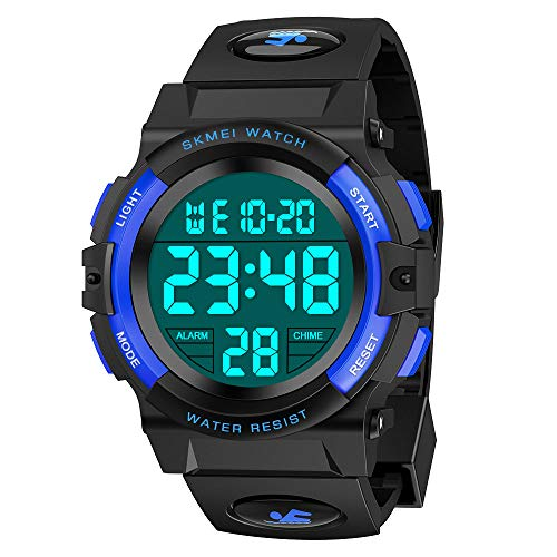 Kids Watch, Atopdream Best Toys For 6 12 Years Old Boys For Digital Sport Waterproof Watch For 6 12 Year Boys Girls Teenage Kids Watches Great Birthday Present Idea For Boys