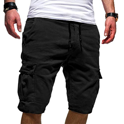 Men's Sport Pure Color Bandage Casual Loose Sweatpants Drawstring Shorts Pantwhite Shorts Black Denim Shorts Navy Blue Shorts Cargo Shorts Nylon Shorts Best Shorts For Men Dress Shorts