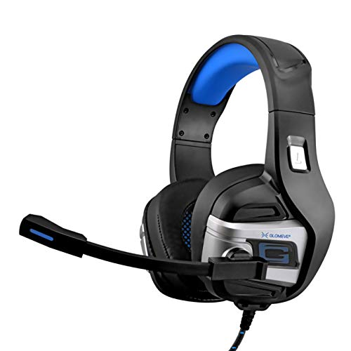 Stereo Audio Prime Xbox One Wired Noise Cancelling Gaming Headset With Built In Mic Volume Control Over Ear 3d Deep Bass Surround Sound Headphones Earphones Best Earbuds For Pc Ps4 Tablet Laptop Mac