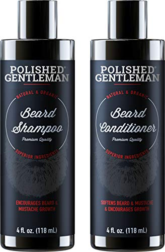 Beard Growth Shampoo And Conditioner Set Best Organic Face Wash With Biotin & Tea Tree Best Beard Soap With Beard Oil Facial Hair Growth Kit For Men Rapid Hair And Beard Growth Made In Usa