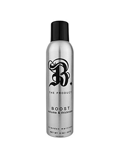 Best Thickening Hair Product Instant Volumizing Spray, Volumizing Root Boost For Thin Hair, Volumizing Spray For Fine Hair B. The Product Boost, 8 Ounce.