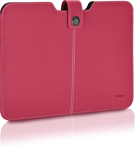 Click To Open Expanded View Targus Twill Sleeve For 13.3 Inch Laptop/ultrabook/macbook Air/pro Pink Best Top Popular Present Idea Her Him Women Men Aunt Roommate Coed Coworker Holiday Stocking Stuffer