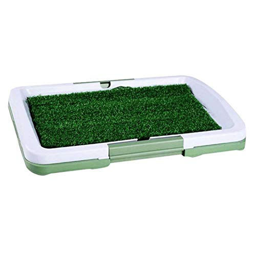 Dog Toilet Dog Grass Pee Pad, Potty Artificial Grass Patch For Dogs Pet Litter Box Training Pads Best For Puppy Indoor Turf