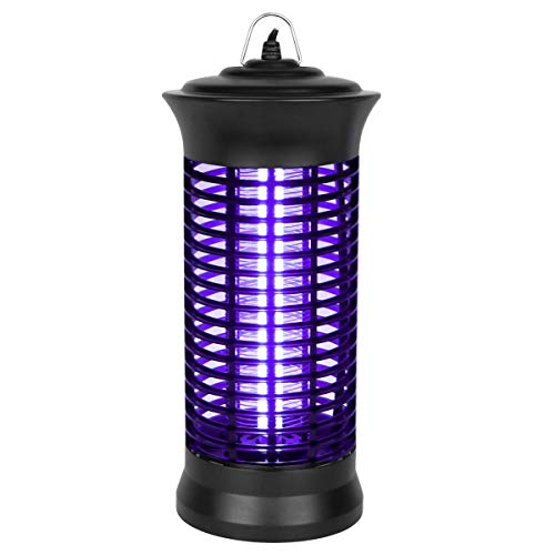Godv Mx Insect Killer, 2019 New Upgrade Bug Zapper, Electric Mosquito Killer Lamp With Hanging And Switch, Best Indoor Mosquitoes/moths/insect Zapper For Bedroom,kitchen And Office Etc.
