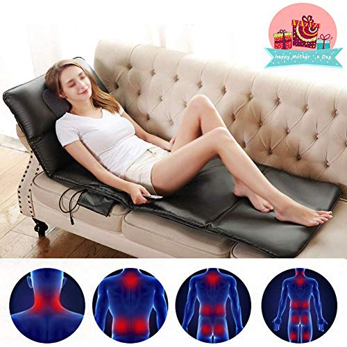 Jigan Back Massage Cushion, Massage Chair Massaging Shiatsu Chair With Heated Function, For Office, Car And Home, Best Gift For Mother's Day