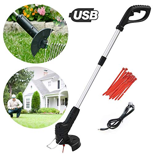 Nobrand Hand Held Grass Trimmer Retractable Cordless Electric Grass Cutter Lawn Mower Best For Garden Lawn