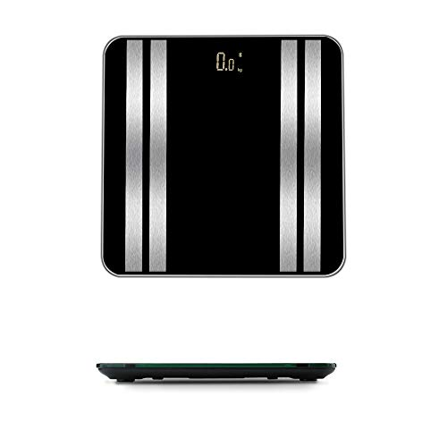 Wotryit Accurate Body Bathroom Fat Scale Display Seven Ttems Of Data 180kg/400 Pounds,the Best Gift For Girl Women