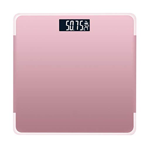 Yscdm Electronic Scale Digital Bathroom Weighing Scale Weight Fat Scales Weight Loss Analog Best Gym Home Toughened Glass 180kg