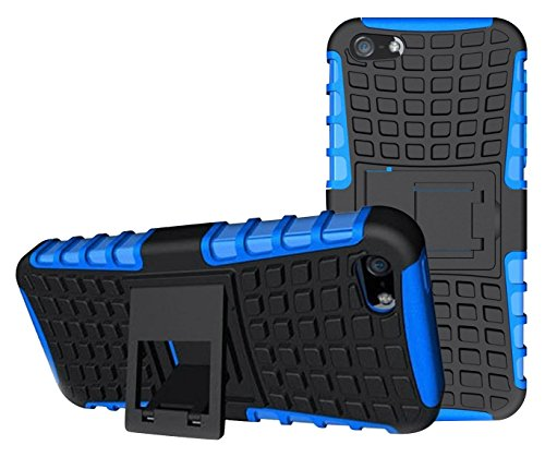 Accucase Iphone 5 Case,iphone 5s Case,accucase New,best,shockproof,dropproof,pc+tpu Colorfull Fashion Cute Armor Case With Stand For Kids,boys,girls(blue)