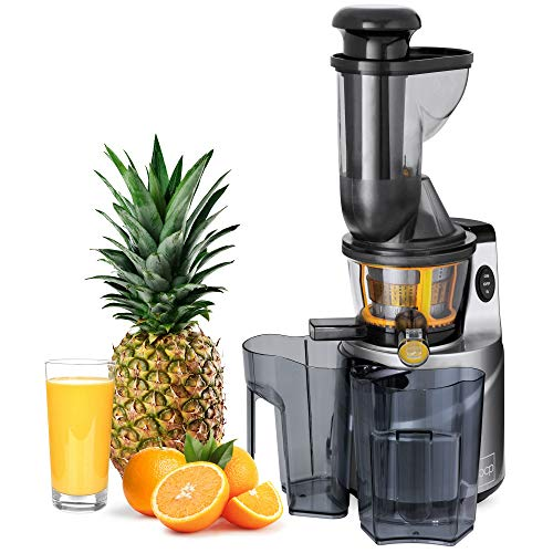 Best Choice Products 150w 60rpm Whole Food Masticating Fruit Vegetable Cold Press Juicer Extractor W/ 3in Chute, Jug